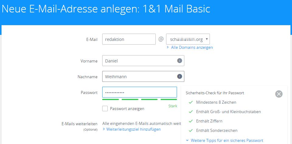 1 und 1 webmailer e mail